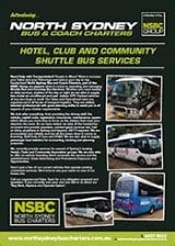 Community Shuttle Service - North Sydney Bus Charters
