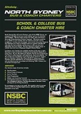 School Bus Coach Services - North Sydney Bus Charters