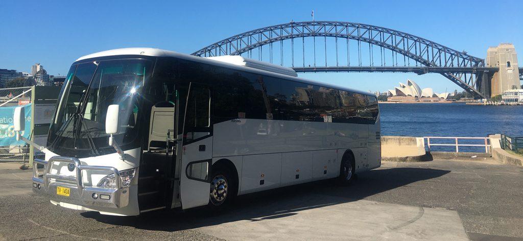 High Capacity Coach - North Sydney Bus Charters