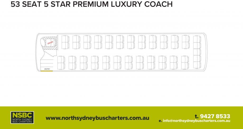 Premium Luxury - North Sydney Bus Charters